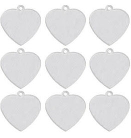 Aluminum Pet Tag - Heart