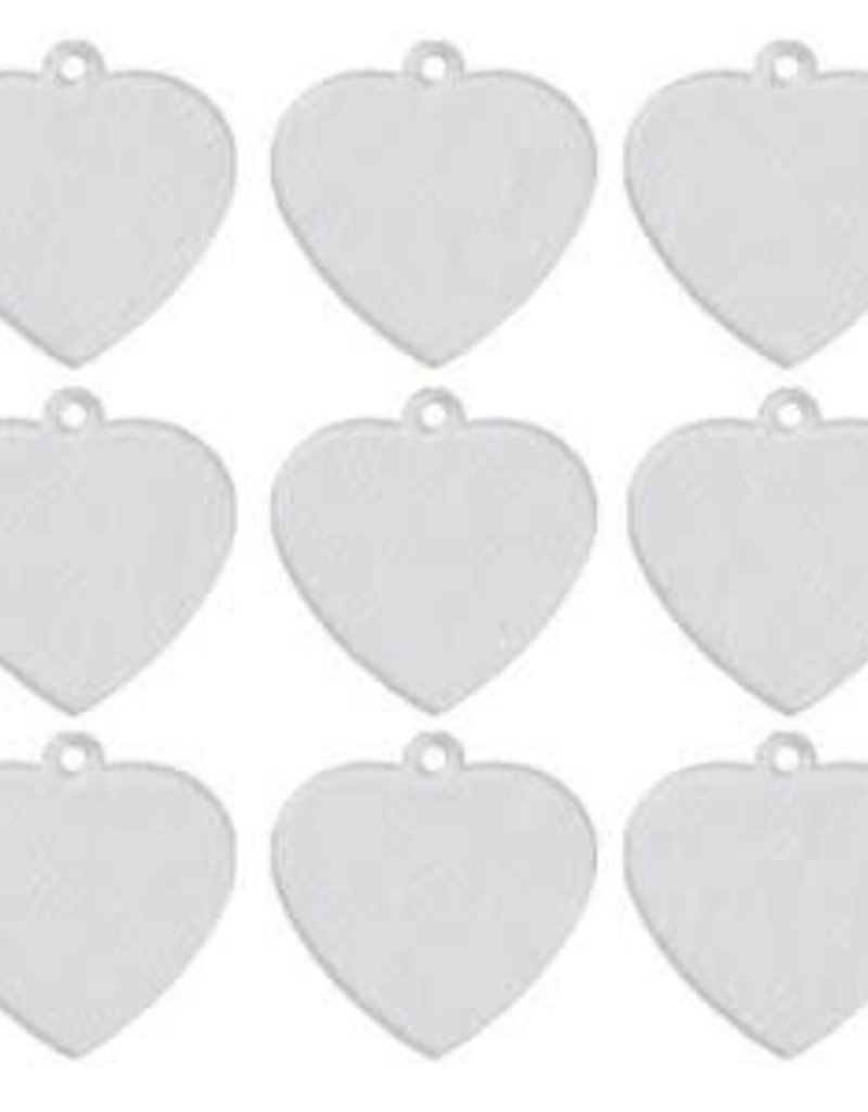 Aluminum Pet Tag - Heart