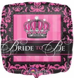 "Qualatex 18"" Crowned Bride to Be"