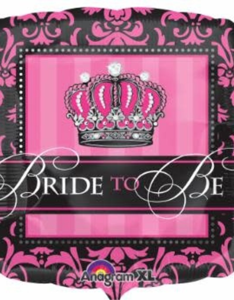 """Qualatex 18"""" Crowned Bride to Be"""