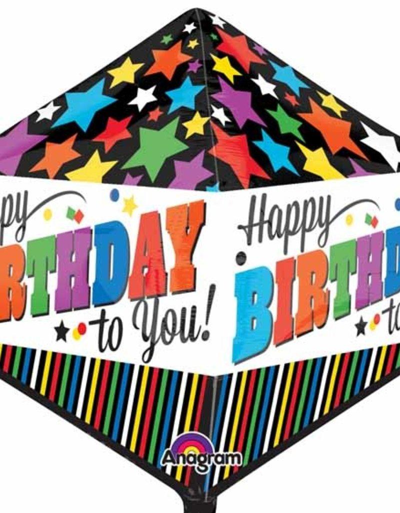 "Qualatex 17"" Happy Birthday Anglez"