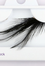 Black Feather Lashes