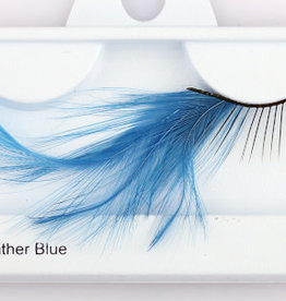 Blue Feather Lashes