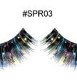 Black Decoration Lashes - SPR03