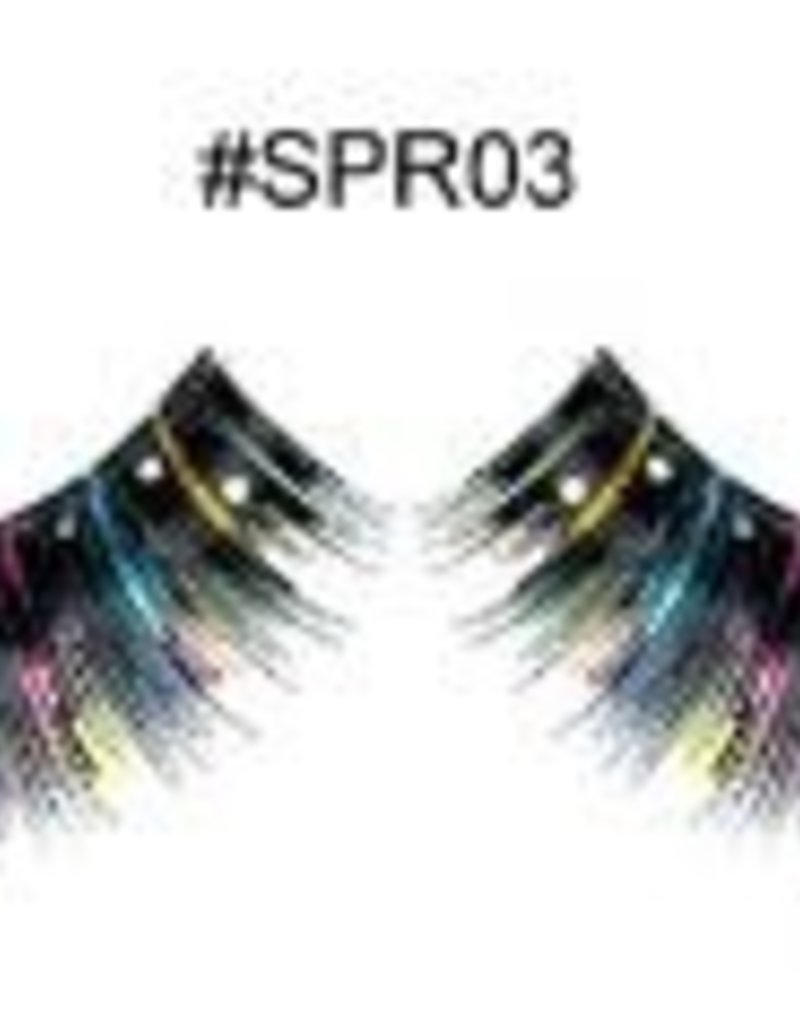 Black Decoration Lashes - SPR03