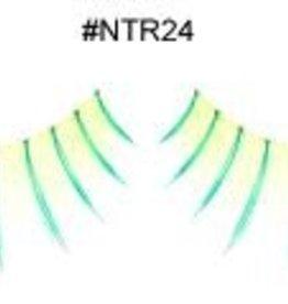 Yellowish Green Lashes - NTR24