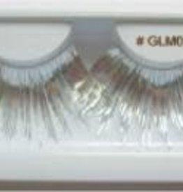Silver Metallic Lashes - GLM02
