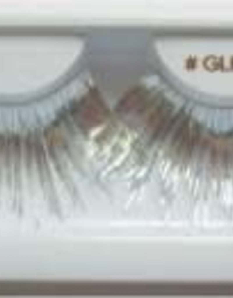 Silver Metallic Lashes - GLM02