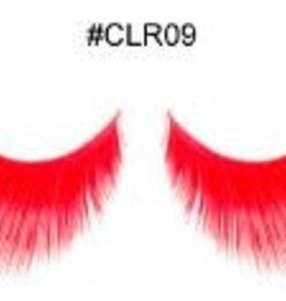 Red Decoration Lashes - CLR09