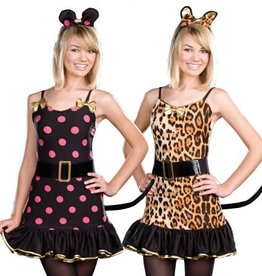 Reversible Cat/ Mouse Pack - S