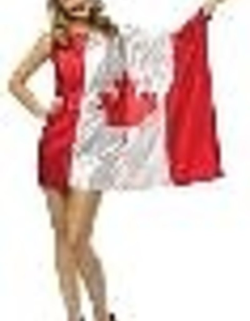 Canada Flag Dress - O/S