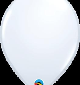White Helium Balloons