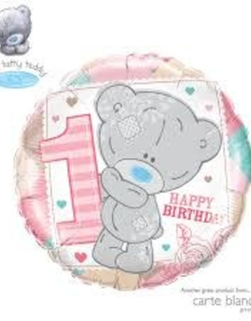 """Qualatex 18"""" Baby's B-Day Foil Helium Balloons"""
