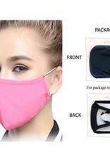 Washable Adult Face Mask - PINK SNUG Fit