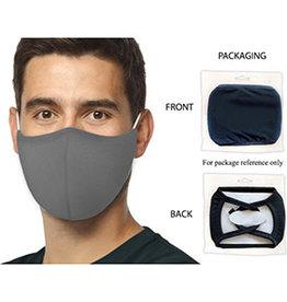 Washable Adult Face Mask - GREY SNUG Fit