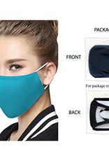 Washable Adult Face Mask - AQUA SNUG Fit