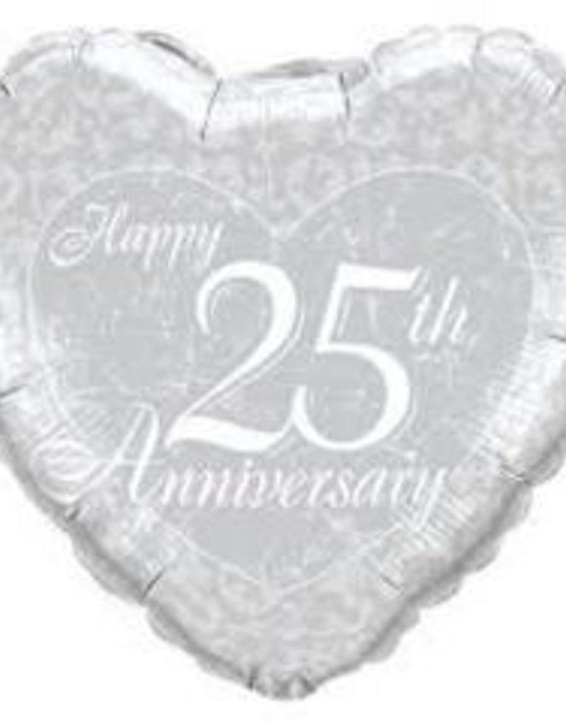 "Qualatex 18"" Wedding/Anniversary Foil Helium Balloons Pt.1"