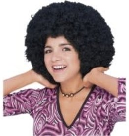 70's Afro Wig - Black