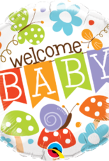 """Qualatex 18""""  Baby Shower Foil Helium Balloons"""