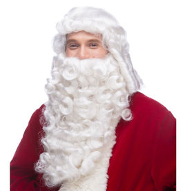 sepia Sepia White Wig and Beard Set (Pro Santa)