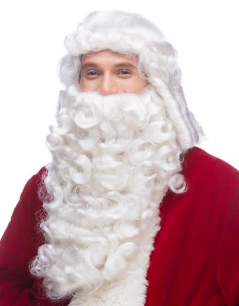sepia Sepia White Wig and Beard Set (Pro Santa)