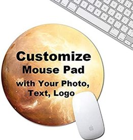 Personalized Mouse Pad - Circle