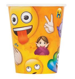 9oz Emoji Paper Cups - 8pc
