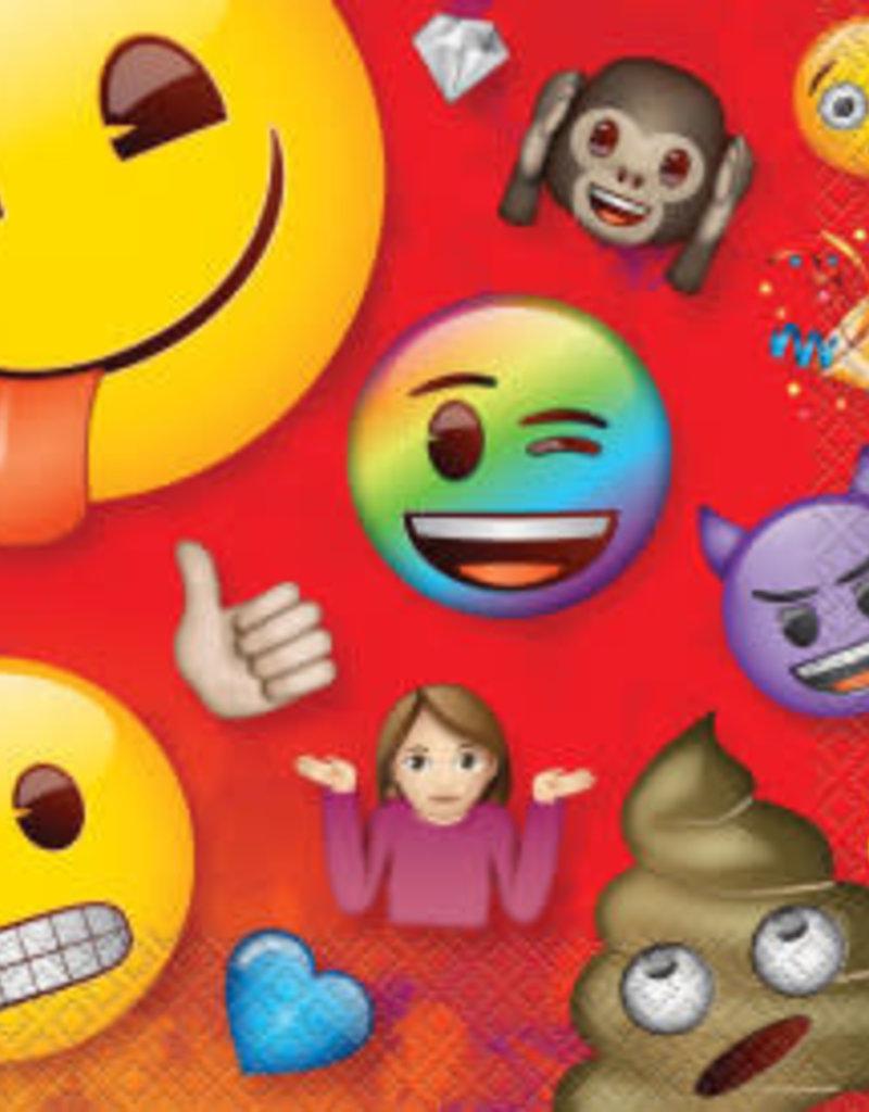 Emoji Luncheon Napkins - 16pc