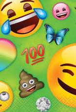 Emoji Beverage Napkins - 16pc