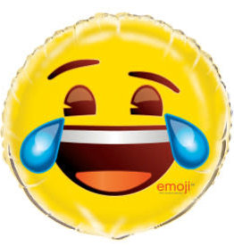 """18"""" Emoji Cry Laughing Foil Balloon"""