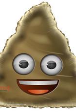 """32"""" Emoji Poop Foil Balloon"""
