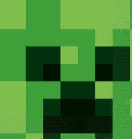 Minecraft Luncheon Napkins - 16pc