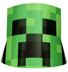 Minecraft Party Hats - 8ct