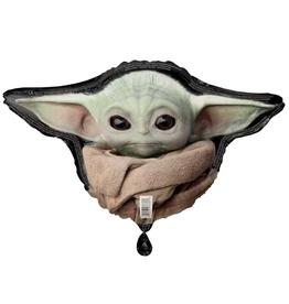 "27"" Baby Yoda Foil Balloon"
