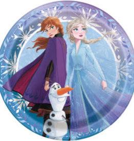 "7"" Frozen II Paper Plates - 8pc"