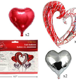 FROM THE HEART Bouquet - Red/white