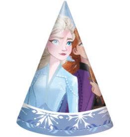 Frozen II Party Hats - 8ct