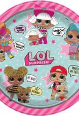 """9"""" L.O.L. Surprise! Paper Plates - 8pc"""