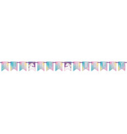 Unicorn Jointed Wall Banner-7ft