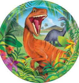 """Dinosaur 9"""" Dinner Plates"""