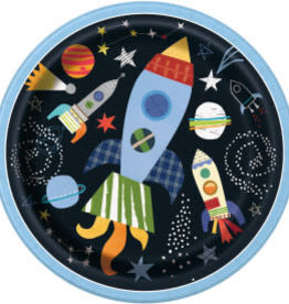 """Outer Space 9"""" Dinner Plates"""