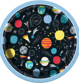 """Outer Space 7"""" Dessert Plates"""