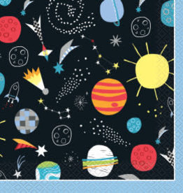 Outer Space Luncheon Napkins