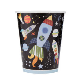Outer Space Paper Cups-9oz