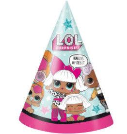 L.O.L. Surprise! Party Hats - 8ct