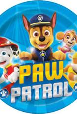 "9"" Paw Patrol Paper Plates - 8pc"