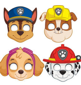 Paw Patrol Party Masks - 8ct
