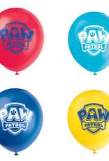 "12"" PAW PATROL PARTY BALLOON 8CT"