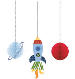 Outer Space Hanging Decorations