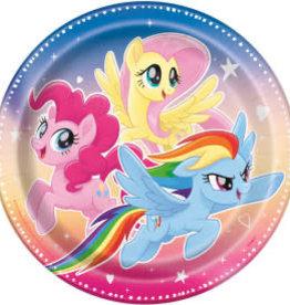 "9"" My Little Pony Paper Plates - 8pc"